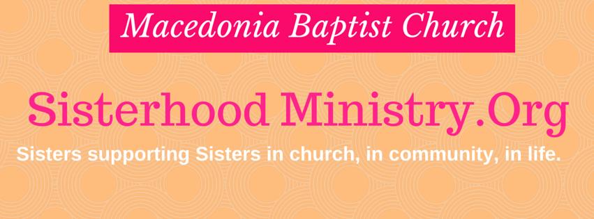 Sisterhood  Ministry - Macedonia Baptist KCMO