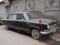 Communist era limousine - Red Capital Restaurant, Beijing
