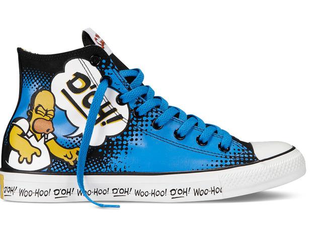 Zapatillas Converse de Los Simpsons