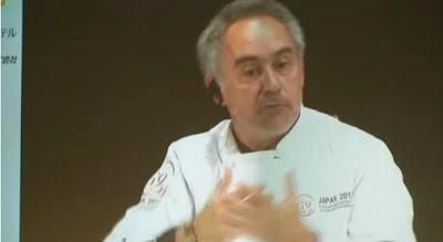La reunión del G9 de los cocineros, instantánea de Ferran Adria. Blog Esteban Capdevila