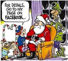 Like Santa on Facebook!!
