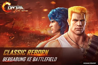 Garena Contra Return Apk+Data