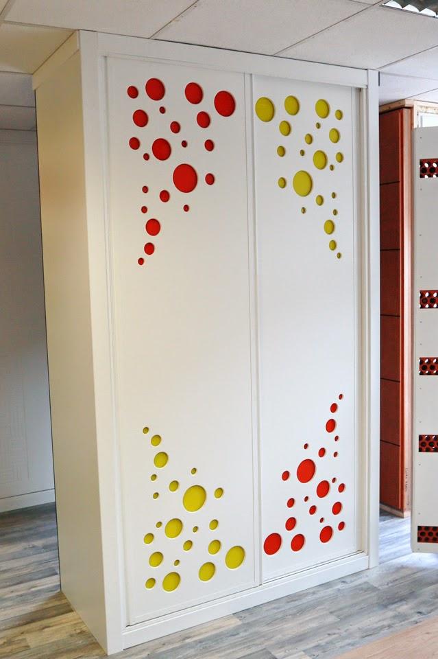 Ch decora puertas cocinas y armarios en madrid julio 2014 - Decorar puertas de armarios ...