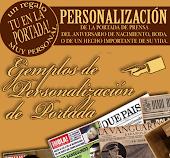 EJEMPLOS de PERSONALIZACIÓN DE PORTADA