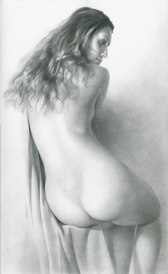 Рисовал Обнаженную