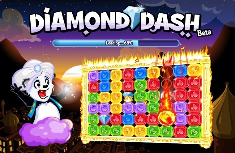Hack Diamond Dash 99 Vidas, Coins y Exp 2012