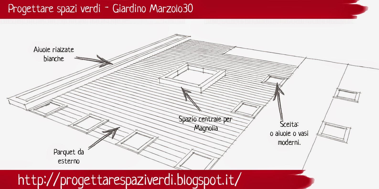 Progettare spazi verdi giardino marzolo30 for Progettare spazi verdi