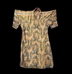 Aga Khan Museum silk samite robe
