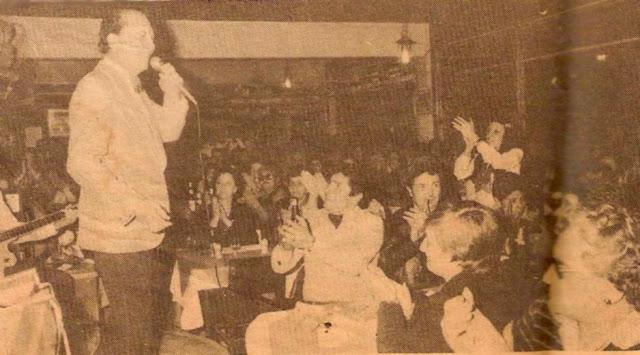 Hugo del Carril cantando en Vostango