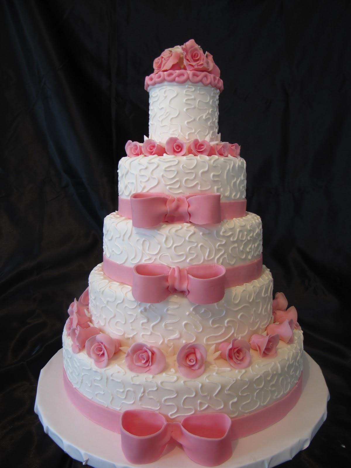 Maket düğün pastasi
