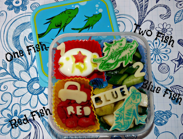 Seuss One Fish Two Fish Bento
