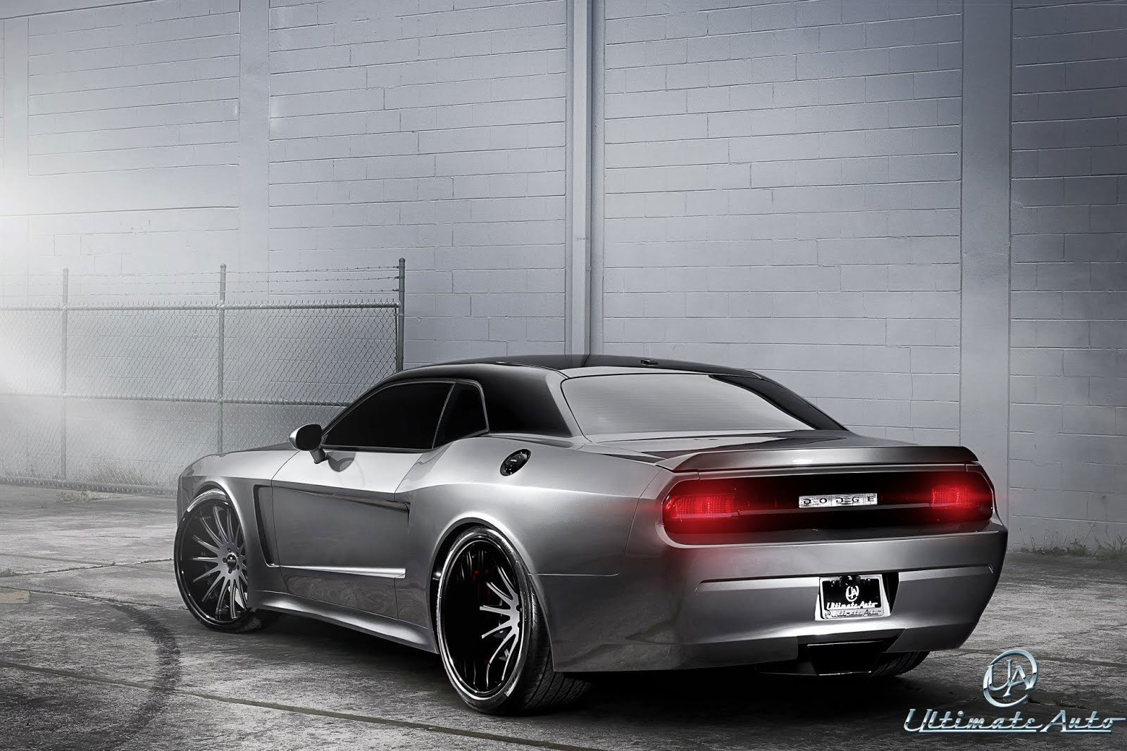 Widebody Dodge Challenger Srt 8 By Ultimate Auto Ebeasts Com