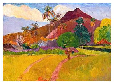 Retro kimmer 39 s blog post impressionist painter paul gauguin for In their paintings the impressionists often focused on