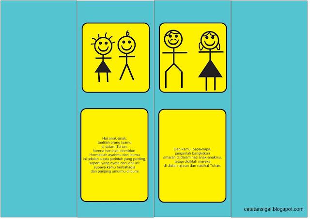 """Bahan Kreativitas Sekolah Minggu """"Keluarga Persemaian Hidup Beriman"""