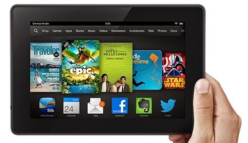 Win a Kindle Fire HD in our Summer Contest
