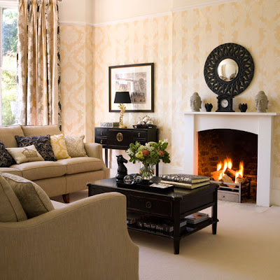Home office designs living room decorating ideas Home decorating ideas living room with fireplace
