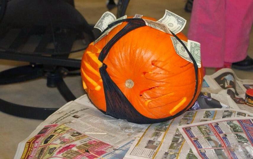Stripper Pumpkin