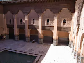 Courtyard of Ben Youssef Madrasa