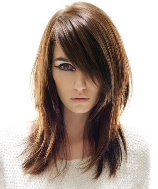 healthy hair for round face Long hairstyles for round face shapes
