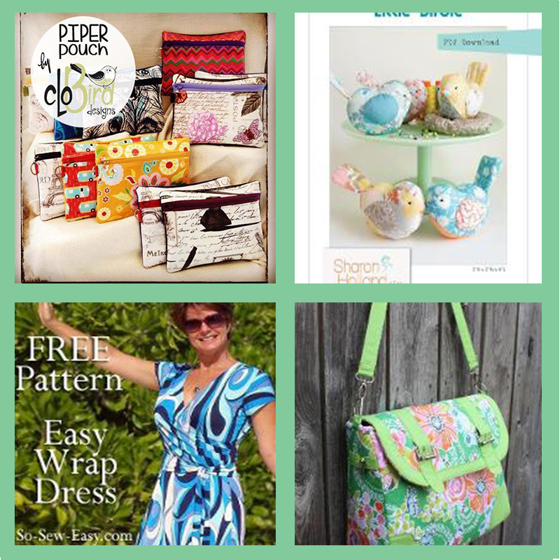 Free Patterns From Craftsy Australian Sewing Guild Sharing And