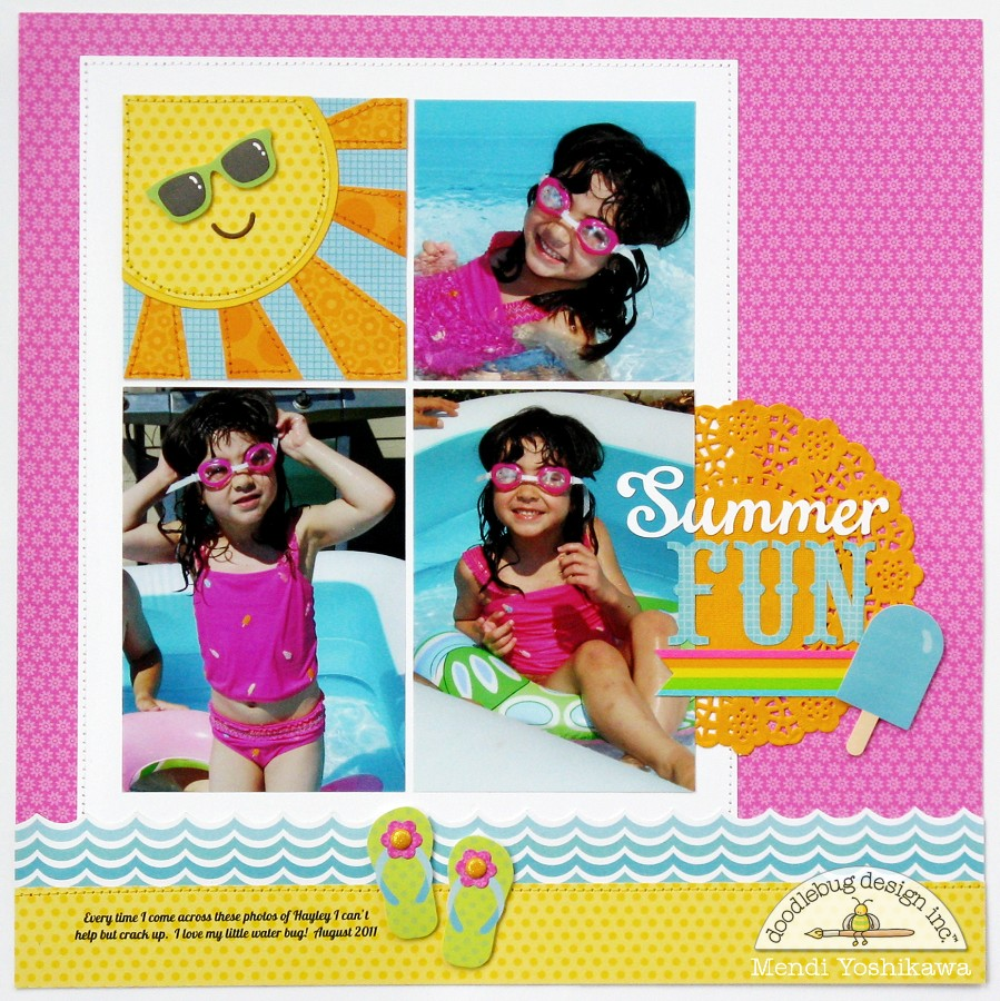 Amazing Summer: Doodlebug Design Inc Blog: Summer Fun With Doodlebug