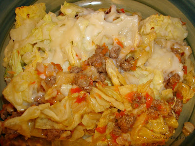 Pasta-Less Lasagna With Red Pepper Sauce