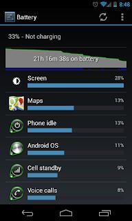 Nexus 4 Battery Drain 2