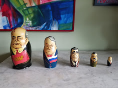 Matryoshka Dolls I bought in Moscow
