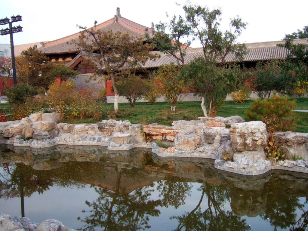 SUKHA: An Old Garden Temple Shanhua-si - Datong