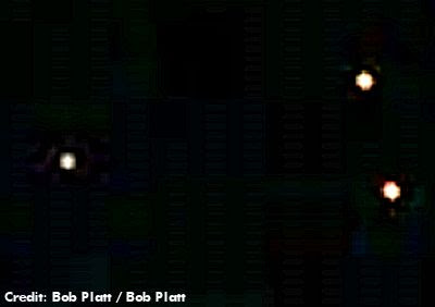 UFOs Over Surprise, Arizona at Midnight 1-1-13