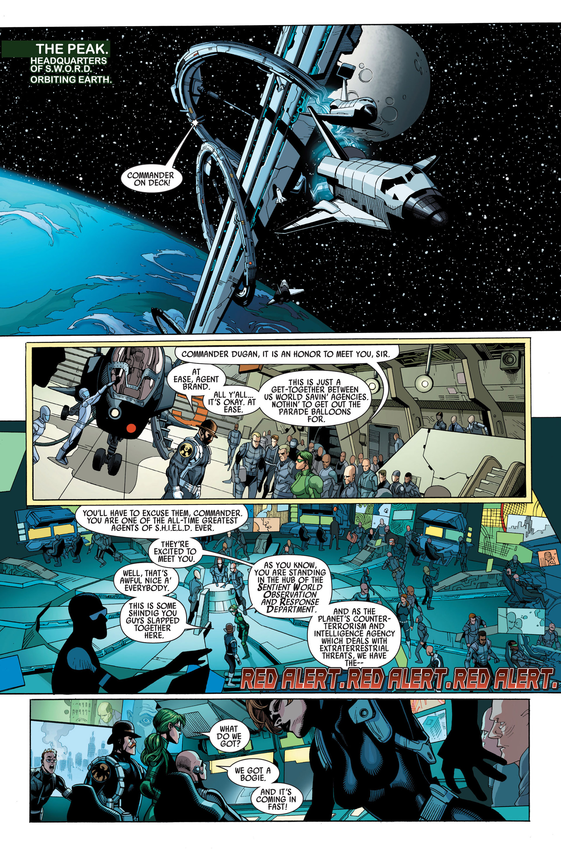 Read online Secret Invasion comic -  Issue #1 - 6