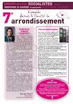 Journal socialiste du 7ème arrondissement