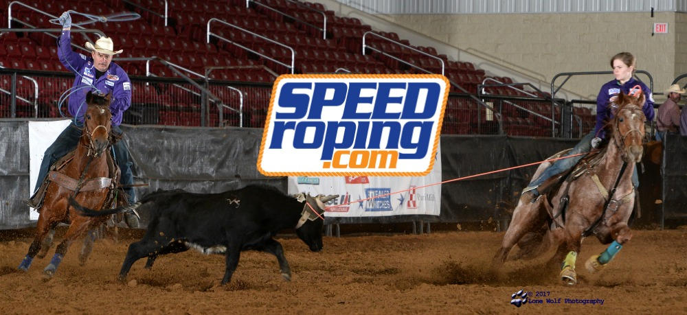 Speed Williams Team Roping