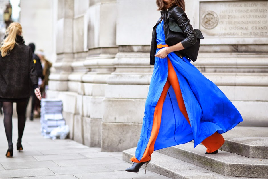 london fashion week street style lfw come vestirsi alla fashion week outfit da fashion week colorblock by felym mariafelicia magno fashion blogger color-block by felym fashion blog italiani blogger italiane di moda blog di moda italiani