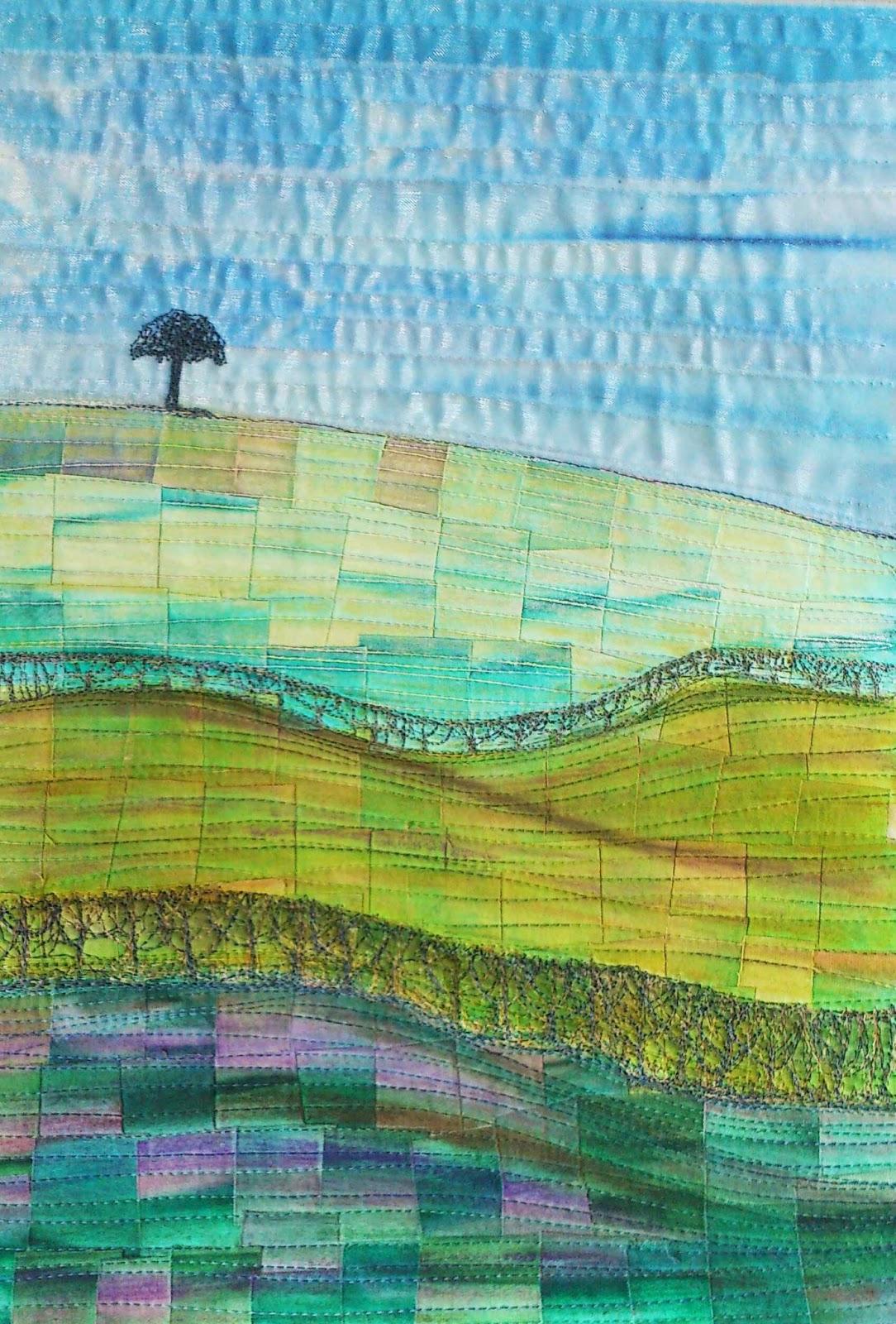 landscape quilting