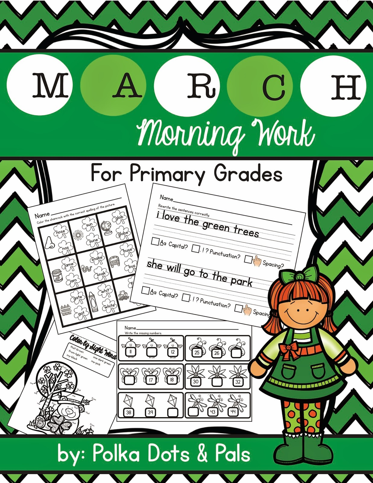 https://www.teacherspayteachers.com/Product/March-Morning-Work-for-Primary-Grades-1717125