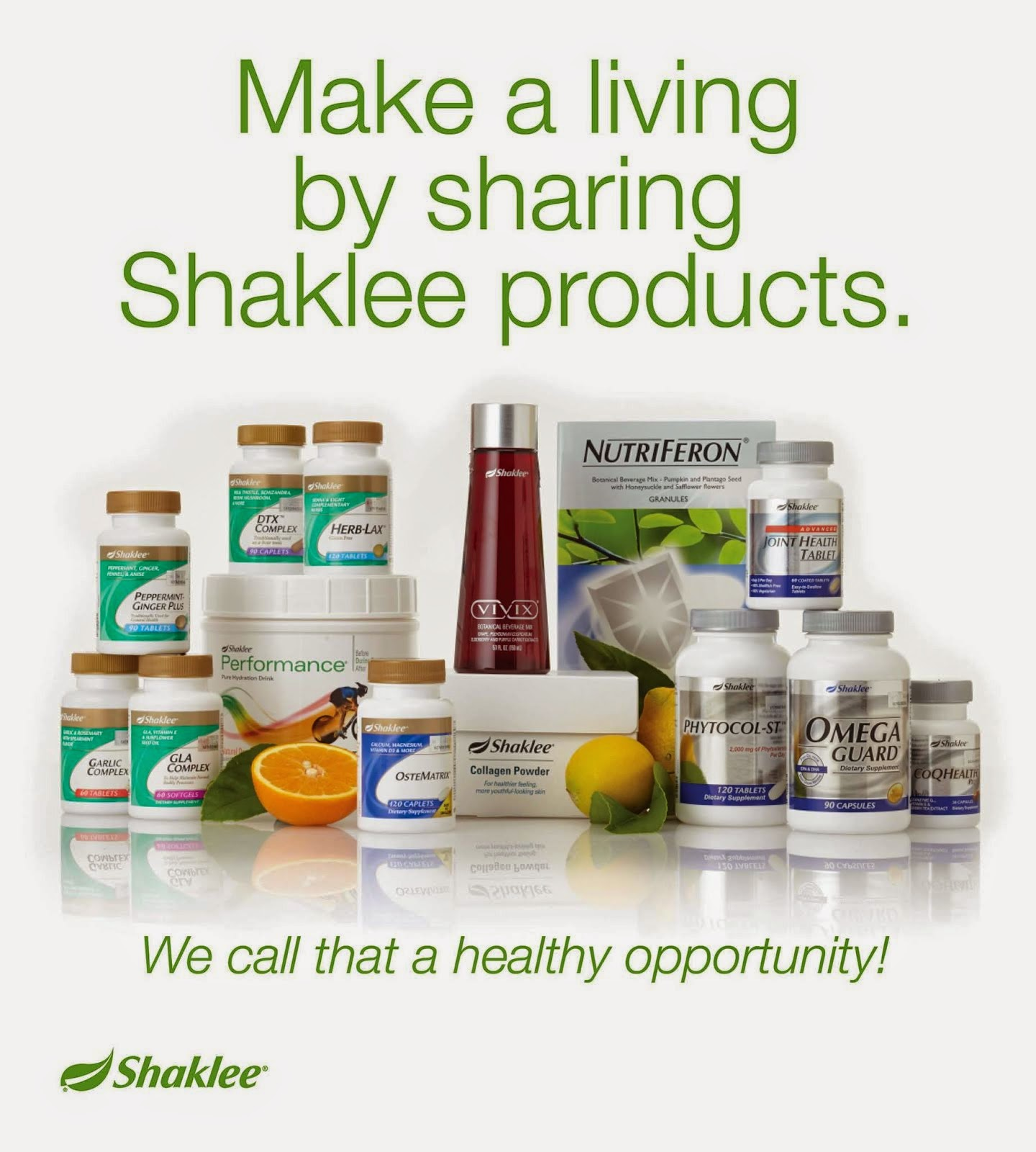 Shaklee Nutrition Online Purchase