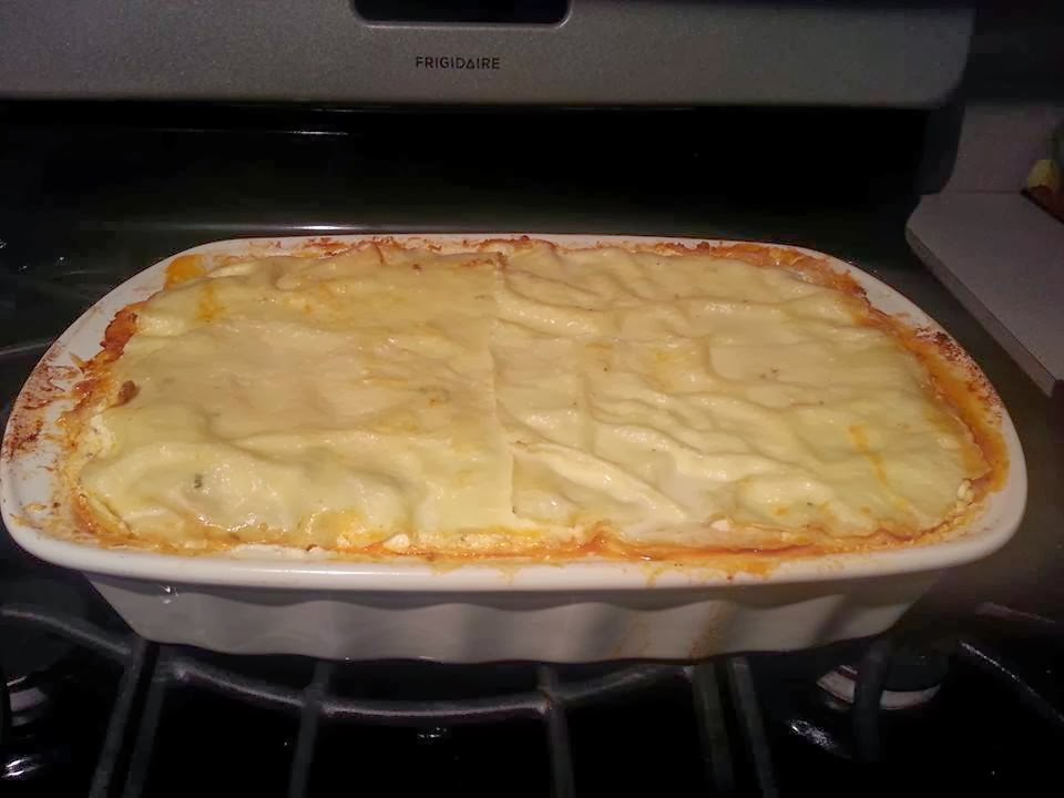 Il Cuoco Disordinato: Home-Made Thousand Layer Lasagna