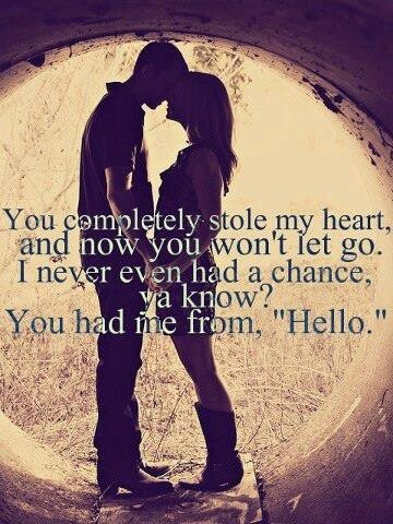 You Had Me From Hello