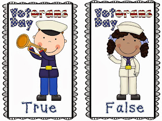 http://www.teacherspayteachers.com/Product/Veterans-Day-True-False-Pocket-Chart-Writing-Activity-960144