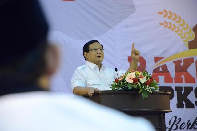 Prabowo : Apapun Dinamika Politik yang Berkembang, Gerindra Tetap Sahabat PKS