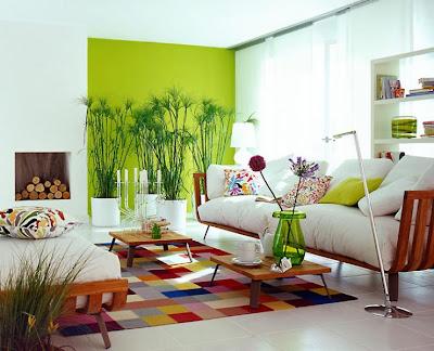 sala moderna blanca
