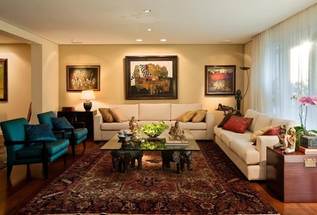 Sala de estar moderna living diseno de interiores - Salas de estar decoracion ...