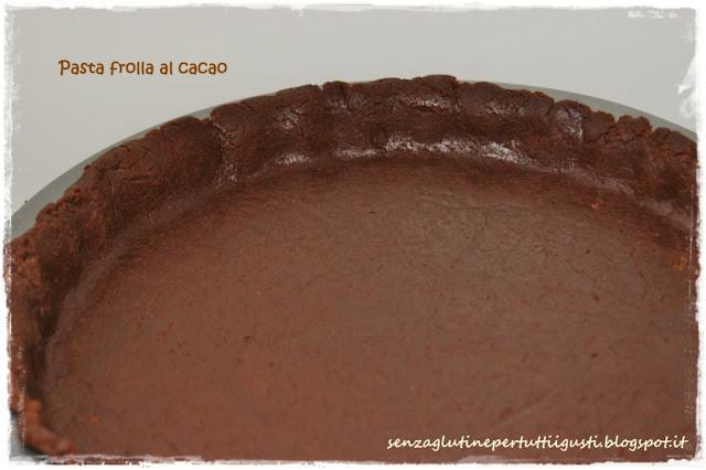 pasta frolla al cacao senza glutine (con bimby)