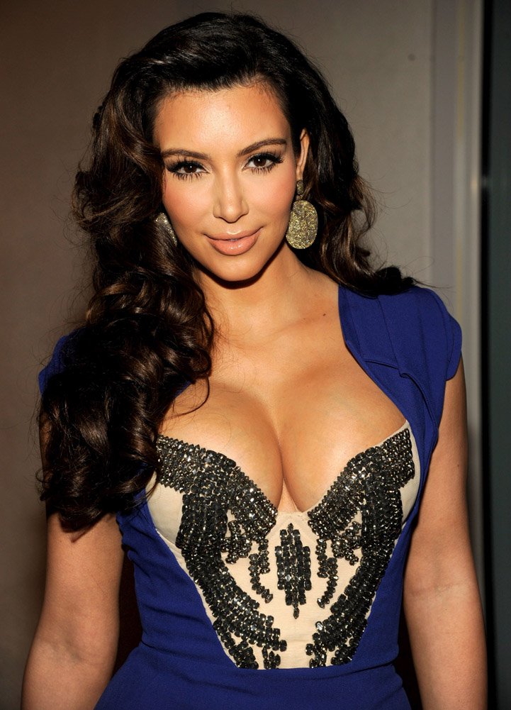 Latest Films News Kim Kardashian Hottest Cleavage