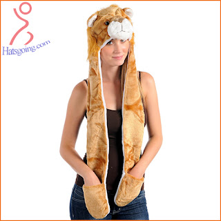 Lion animal hats