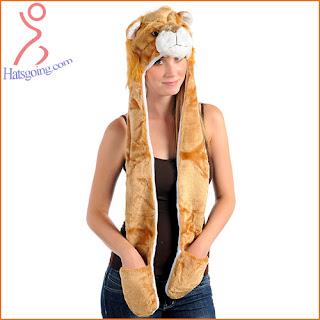 Lion animal hats