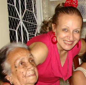 Mamãe nos meus 60 anos
