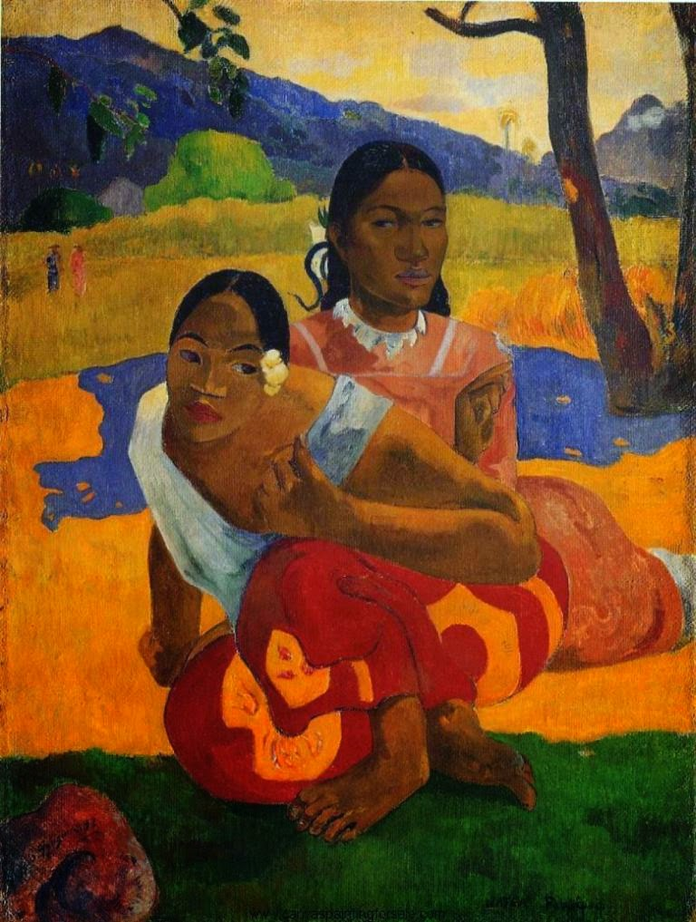 Paul Gauguin When you marry? (Nafea Faa Ipoipo)