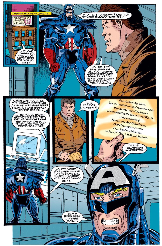 Captain America (1968) Issue #442 #396 - English 9
